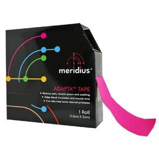 KINESIOTEJP MERIDIUS, 32 meter, rosa