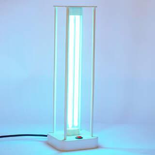 Bakteriedödande UVC-lampa för desinficering