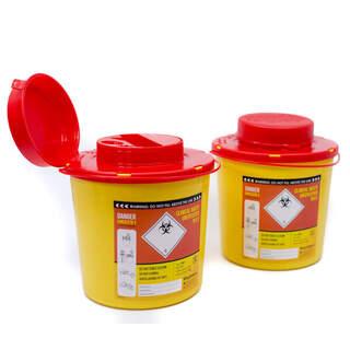 Riskavfallsburk 1,5 liter