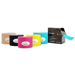 KINESIOTEJP MERIDIUS, 12-pack i blandade färger