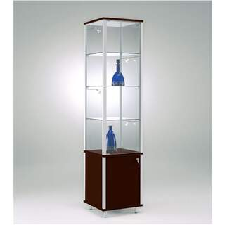 Excklusiv - Produkthylla Salong i Glas / Trä