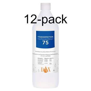 Ytdesinfektion DAX 75, 1 liter 12-pack
